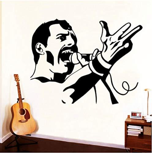 Wandtattoo-Queen Band Vinyl Wandaufkleber 43Cm X 56Cm Wandtattoo/Aufklebe/Kinderzimmer/Wohnzimmer Schlafzimmer/Plakat/Cartoon/Wandbild