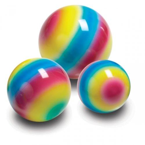 Rainbow-Ball, ca. Ø 25 cm - Spielball Kinderball Regenbogenball