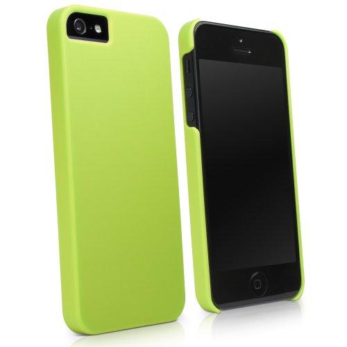 Boxwave Minimus custodia Apple iPhone 5–Slim Fit protettiva custodia in policarbonato per durevole protezione anti-scivolo (verde lime)