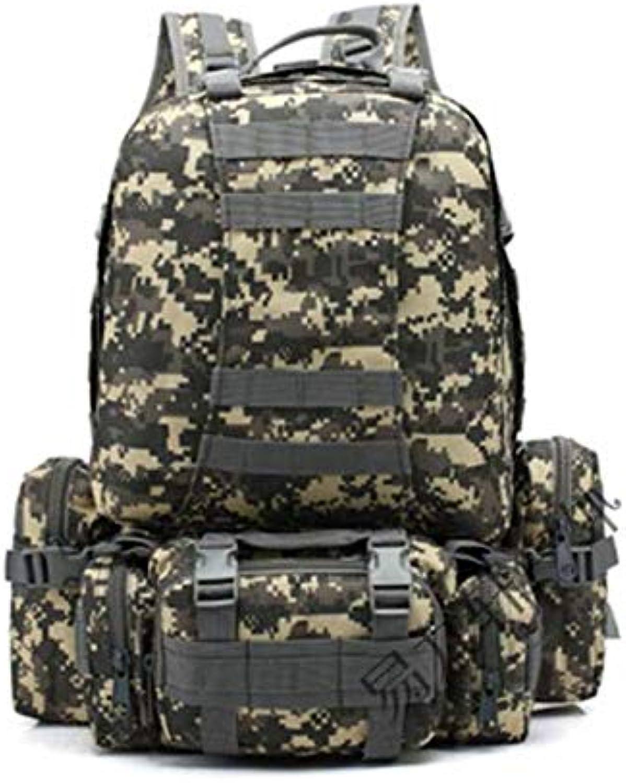 Hiking Backpack Waterproof Big Capacity Shoulder Bag Mountaineering Riding Camping Outdoor Activities