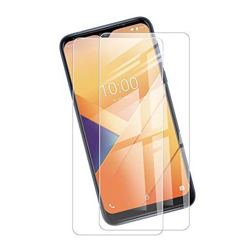 Protector de pantalla de cristal templado JIENI para Oppo A15 (6,52 pulgadas), [2 unidades] dureza 9H, muy duradero, antiarañazos, cristal templado ultra transparente