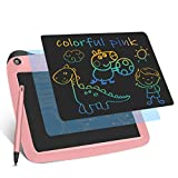 Enotepad LCD Tablette d'Dessin, Dessin Coloré électronique Planche Dessin 9 Pouces Doodle Board for Kids Portable LCD Doodle Pad Rose