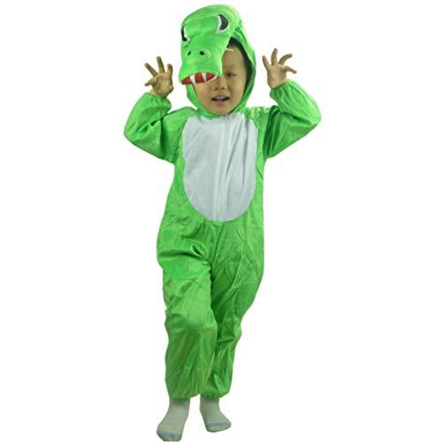 PRETYZOOM Disfraz de Cocodrilo para Niños Disfraz de Cocodrilo para Fiesta de Disfraces de Halloween para Niños Cosplay