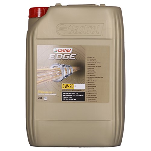 Castrol 57413 Edge Motoröl Titanium FST 5W-30 LL, 20 Liter
