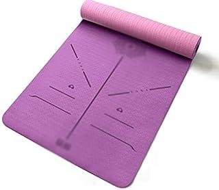 Zxb-shop Yoga Mat Thickening Widening Lengthening Beginner Yoga Mat Non-Slip Fitness Mat Floor Mat Home
