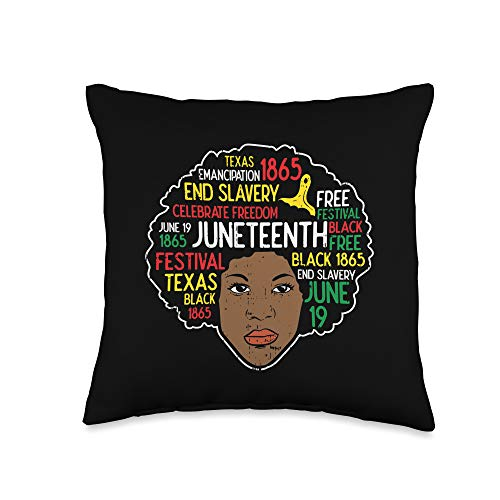 Juneteenth Pillow