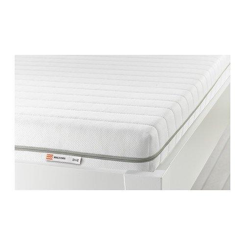 Ikea MALFORS - Foam mattress, medium firm, white