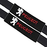 VILLSION 2Pack Rembourrage de ceinture de sécurité de voiture Coussin Coton Doux Protégez votre cou et vos épaules pour les adultes et les enfants