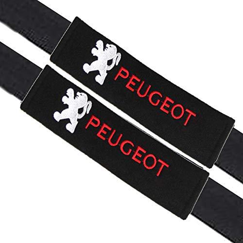 VILLSION 2Pack Almohadillas para cinturón de seguridad Auto accesorios, Algodón suave protege tu cuello y hombros