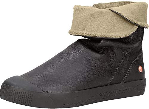 Softinos Damen KAZ469SOF Hohe Stiefel, Schwarz (Black 000), 38 EU