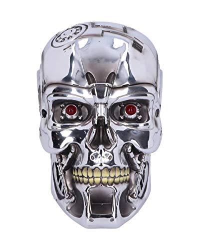 Horror-Shop Terminator 2 T-800 Relieve De La Pared del Cráneo