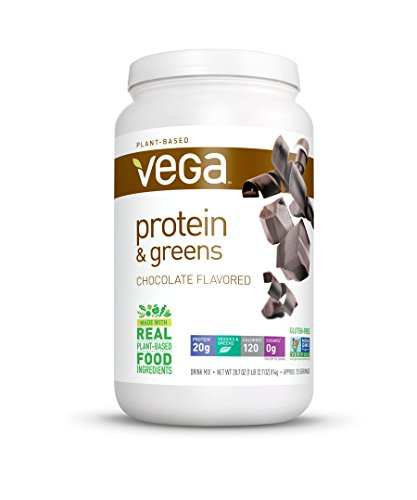 Vega Protein & Greens, Chocolate, 1.79 lb, 25 Servings