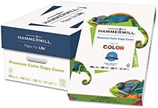 Hammermill Color Copy Cover Paper - Ledger/Tabloid - 11quot; x 17quot; - 60 lb - Ultra Smooth - 100 Brightness - 250 / Ream - Photo White