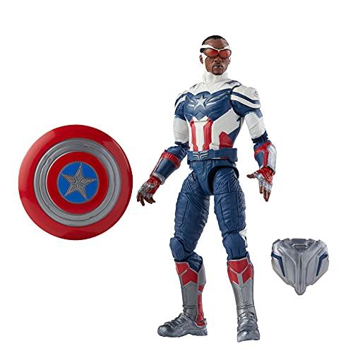 Marvel Legends Series Vingadores Design Especial Premium, Figura 15 cm - Capitão América - F0328 - Hasbro