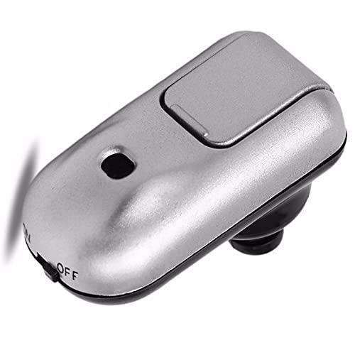 JING Amplificador Audición Inalámbrico para Personas Mayores, Mini Potenciador Audición Liviano con Control Volumen, Asistencia Auditiva para TV Y Conversación,One