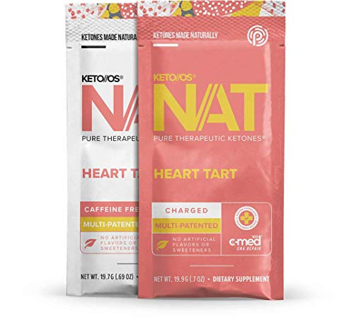 Pruvit Keto OS MAX - Various Flavours (Heart Tart (Charged))