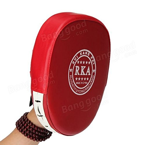 Calli Boxtraining Mitt Ziel Fokus Schlags Auflage Handschuh für MMA Karate Muay Thai Kick Abbildung 3