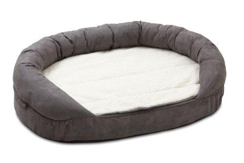 Karlie Hundebett Ortho Bed Oval, grau, 72 x 50 x 20 cm
