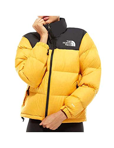 The North Face Cazadora W 1996 Retro Nuptse Amarillo Mujer