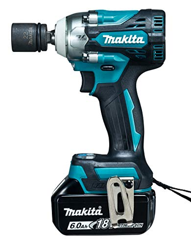 マキタ(makita) 充電式インパクトレンチ 18V6Ah バッテリ2本・充電器・ケース付 TW300DRGX