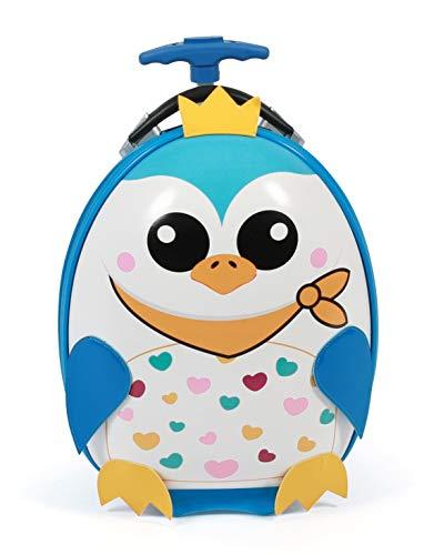 Bayer Chic 2000 Kinderwagen, Hartschale, Pinguin kinderbagage, 40 cm, 12 liter, blauw (Pinguin)