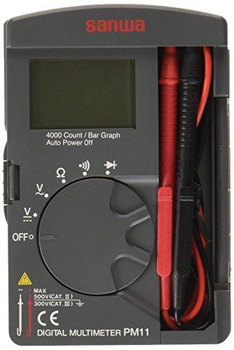 サンワサプライ 三和電気計器ポケット型デジタルマルチメータ PM11_3288