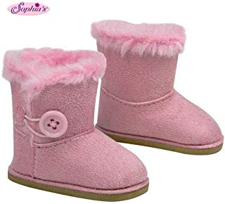 Stylish 18 Inch Doll Boots. Fits 18