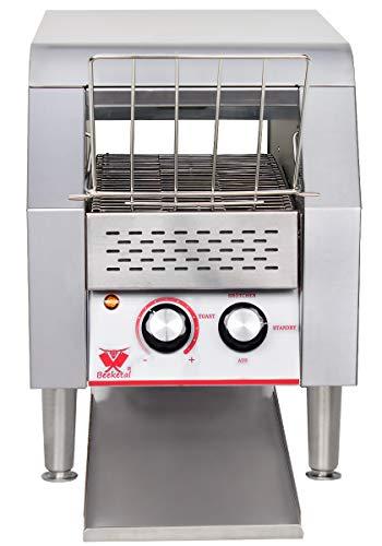 Beeketal-DTB-Serie-Profi-Gastro-Durchlauftoaster-Edelstahl-mit-Zugabefach-fuer-1-3-Toastscheiben-Toaster-mit-7-Geschwindigkeitsstufen-und-3-Toast-Braeunungsgrade-einstellbar-inkl-Kruemelschublade
