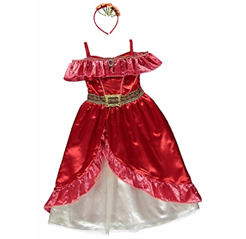 Disney Store Elena of Avalor Costume Dress Shoes Girls Size 7//8 9//10 2//3