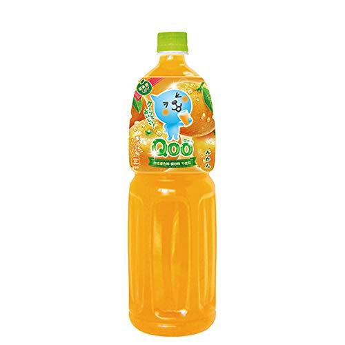 コカ・コーラ ミニッツメイド Qoo(クー) みかん 1.5L ペットボトル 12本 (6本入×2 まとめ買い)