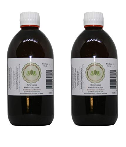 Caisse Original Formula 4 Herb Tea - 1100 ml (2 x 550 ml) Glass Bottle