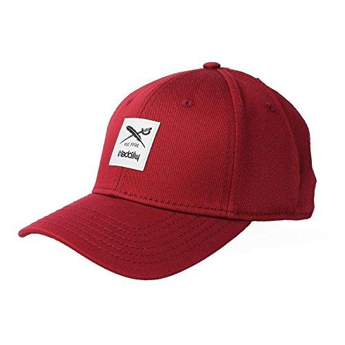 IRIEDAILY Daily Flag Flex Cap,Red, XL