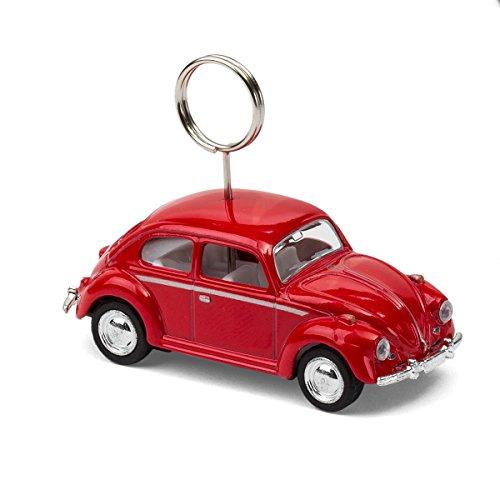 corpus delicti :: VW Käfer – Foto- und Kartenhalter auf Rädern (rot) (20.5r)
