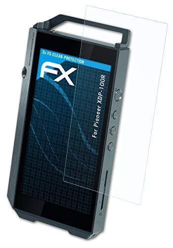 PIONEER XDP-100R 화면 보호기와 호환되는 ATFOLIX 화면 보호 필름 울트라 클리어 FX 보호 필름(3X)