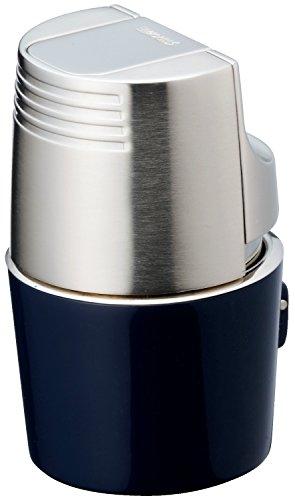 SAROME(サロメ) 電子 ガス ライター トリプル ジェット T3BM1-03 シルバー/ブルー T3BM1-03
