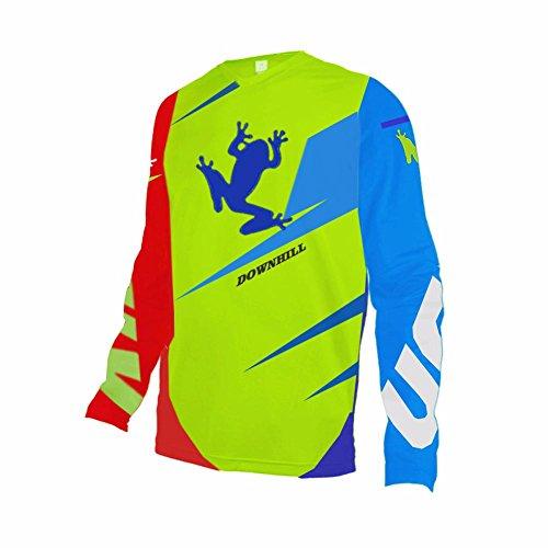 Uglyfrog 2018-2019 Newest HDCDJ05 V-Collar Long Sleeve Sports Jersey Frühling Motocross Downhill Trikots Enduro Cross Motorrad MTB