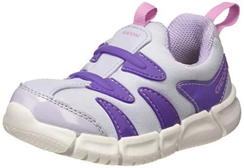 Geox B FLEXYPER Girl C, Scarpe da Ginnastica Basse Bambina, Purple (Soft Sky C4020), 22 EU