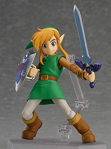 XINFAN Figura de Zelda The Legend of Zelda Link Figura de Movimiento Conjunto PVC Figuras de Juguetes para Amigos Regalos