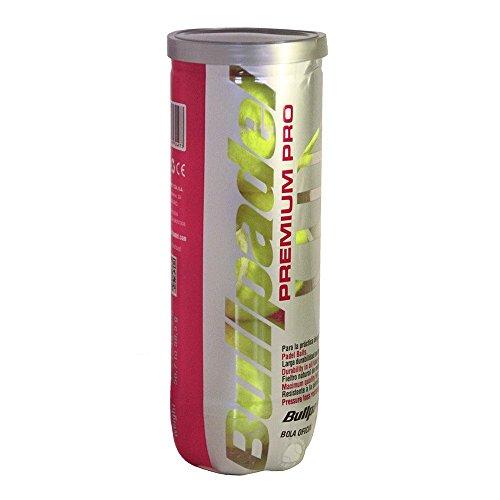 Bull Padel Premium Pro Lot de 3 balles de Tennis