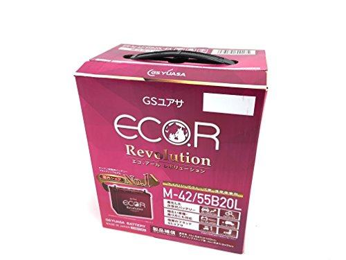 GS YUASA [ ジーエスユアサ ] 国産車バッテリー [ ECO.R Revolution ] アイドリングストップ車対応 ER-M-42...