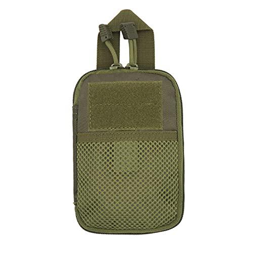 NYSJLONG Hombre Bolsa Hombre Tactical Molle Pouch Cinturón Riñonera Bolso Pequeño Bolsillo Riñonera Militar Riñonera para Correr Bolsas De Viaje para Acampar con Espalda Suave   Bolsas De Escalada