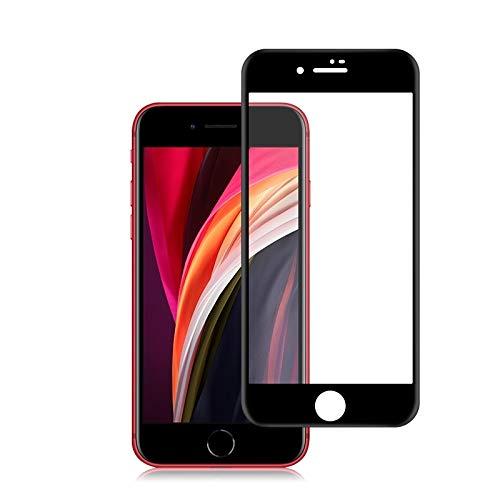 Nieuwe Tangyong Tang yong Voor iPhone SE 2020 0.33mm 9H 3D Volledige Lijm Gebogen Volledig Scherm Gehard Glas Film