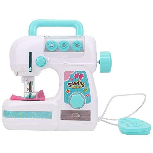 BHDD Mini máquina de Coser, Juego de Juguetes para máquina de Coser, máquina de Coser eléctrica de tamaño Mediano, máquina de Coser Manual, Juguete Educativo, Principiantes, niños