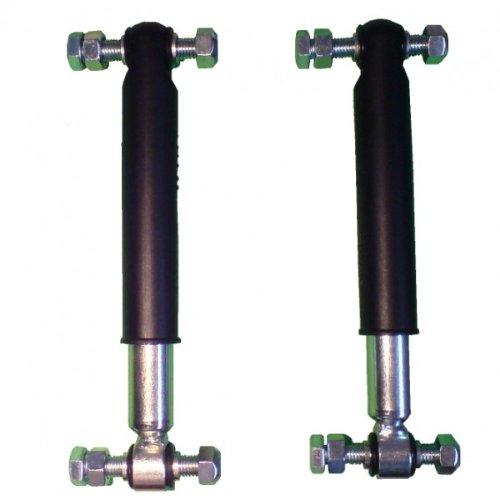 FKAnhängerteile 2 Stück Knott Achsstoßdämpfer 600 bis 1800 kg -Knott Nr. 990001 + Schraubensatz
