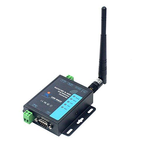 CS PRIORITY WIFI Serial Server RS232 RS485 to WIFI and Ethernet Converter Modbus RTu to Modbus TCP USR-W610