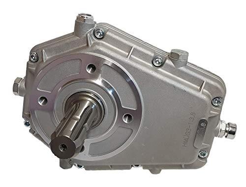 Hydromot- Zapfwellengetriebe. Zapfwellenstummel 1 3/8'', Übersetzungsverhältnis: 1:3,8, Baugruppe 3 BG3