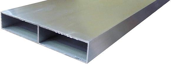 R/ègle en aluminium avec bouchons toutes les tailles