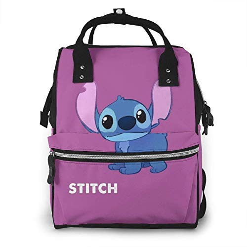 Diaper Bag Backpack - Stitch Multifunction Waterproof Travel Backpack Maternity Nappy Changing Bags