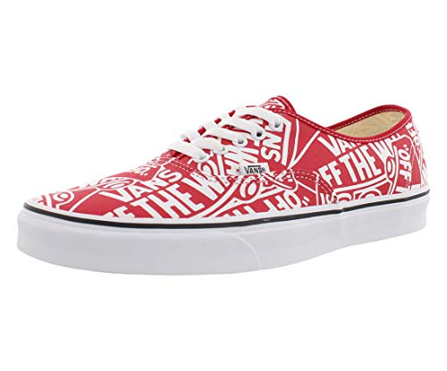 Vans Authentic Shoes 42 EU Red True White