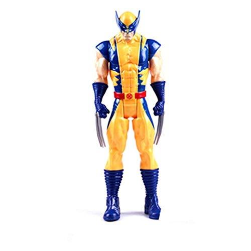 Lfy Spielzeugmodell Filmfigur Marvel Avengers Wolverine Figur Modell Gelenk Bewegliche Spielzeugfigur 30CM
